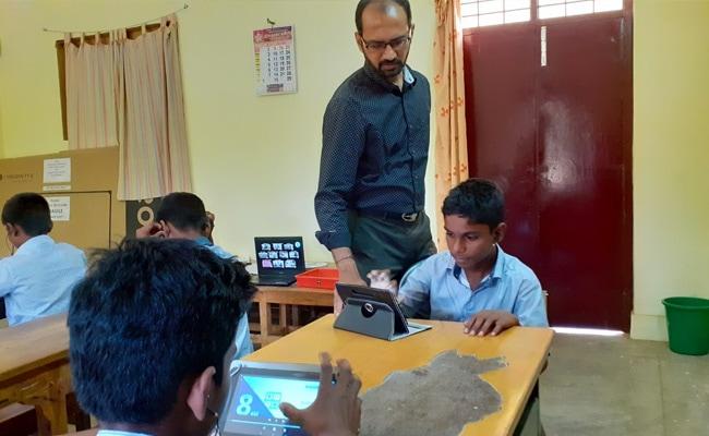 Chennai Techie Turns Teacher To Bridge Digital Divide That Goes Beyond Access