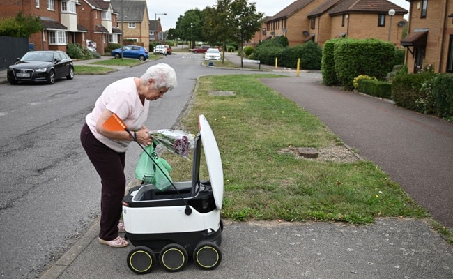 Delivery Robots Ease Shopping In UK Town