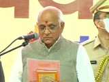 Video : Bhupendra Patel Takes Oath As Gujarat Chief Minister