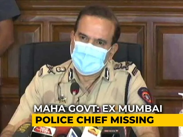 """Video : Did Mumbai Ex-Top Cop Flee To Russia? Minister Says """"We're Searching"""""""