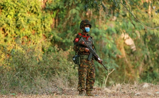 Myanmar's Military Launches Air Strikes Amid Clashes, Internet Cut In Many Areas