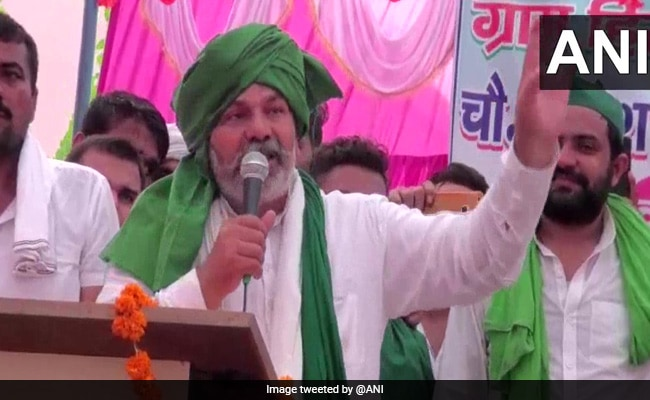 """Rakesh Tikait A """"Dacoit"""", Farmers' Protest Getting Foreign Funds: BJP MP"""