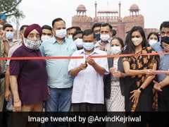 Arvind Kejriwal Inaugurates Newly Re-Developed Area Of Chandni Chowk