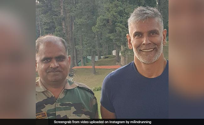 What Milind Soman Wrote After Getting A 'Fauji Cut From Fauji Cutter' In Gulmarg