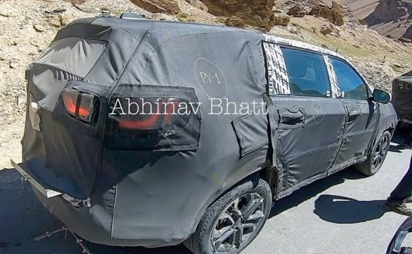 , Jeep Seven-Seater SUV Spotted Testing In Ladakh, The World Live Breaking News Coverage & Updates IN ENGLISH