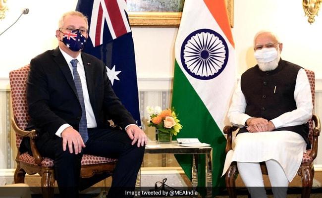 PM मोदी ने QUAD लीडर्स समिट से पहले ऑस्ट्रेलिया के स्कॉट मॉरिसन से की मुलाकात