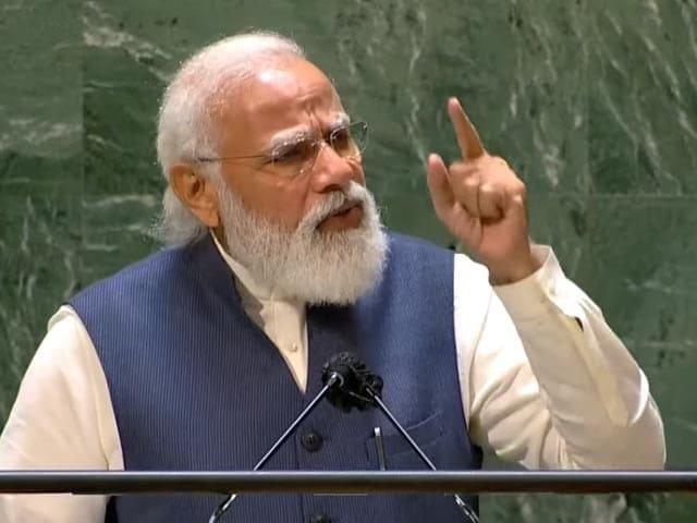 "Video : ""Democracy Can Deliver, Democracy Has Delivered"": PM Modi At UN"