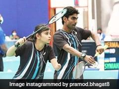 Tokyo Paralympics: Shuttlers Pramod Bhagat-Palak Kohli Lose Mixed Doubles Semis, To Play For Bronze
