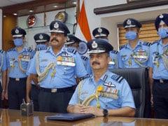 Air Chief Marshal Vivek Ram Chaudhari Takes Charge As New Air Force Chief