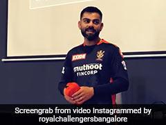 Watch: Virat Kohli's Motivational Dressing Room Talk To RCB Teammates After Huge Defeat To KKR