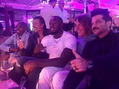 """Cheers To Anil Kapoor's """"Legendary Night"""" With Usain Bolt And Mo Farah In Munich"""