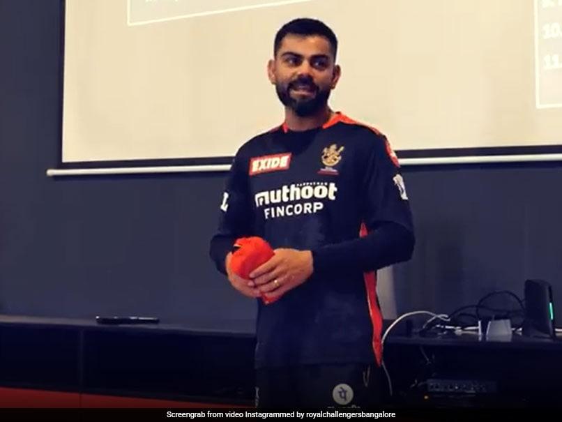 Watch: Virat Kohlis Motivational Dressing Room Talk To RCB Teammates After Huge Defeat To KKR