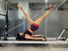 """""""Pilates Girl"""" Janhvi Kapoor Began Her Weekend Like This"""