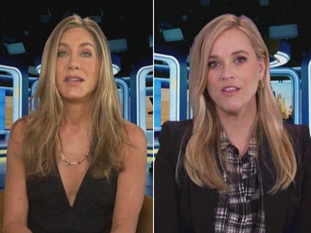 Video : Jennifer Aniston & Reese Witherspoon On Playing News Anchors In <i>The Morning Show</i>