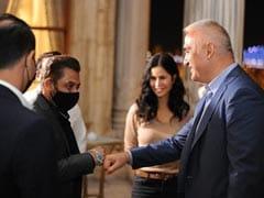 Viral Pics: <I>Tiger 3</i> Stars Salman Khan, Katrina Kaif With Turkish Minister