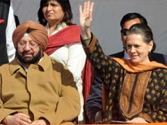 """""""Can't Continue With Such Humiliation,"""" Captain Tells Sonia Gandhi: Sources"""