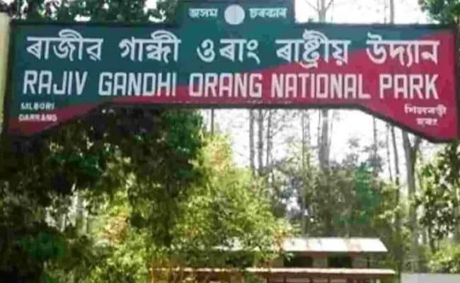 BJP, Congress Bicker After Assam Tiger Reserve Sheds Rajiv Gandhi Name