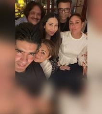 Karisma, Amrita, KJo And Manish Malhotra At Kareena Kapoor's House Party