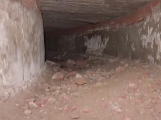 Video : Tunnel Reaching Red Fort Discovered At Delhi Assembly