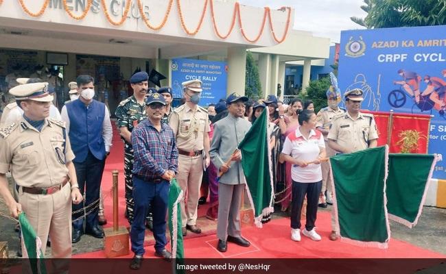 Azadi Ka Amrit Mahotsav: CRPF's Cycle Rally Leaves From Siliguri To Patna