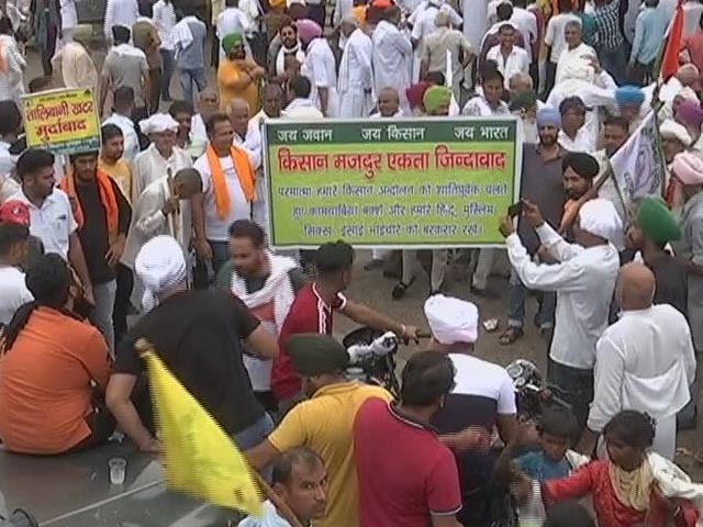 Video : Talks With Haryana Officials Fail, Farmers To Announce Protest Plan Soon