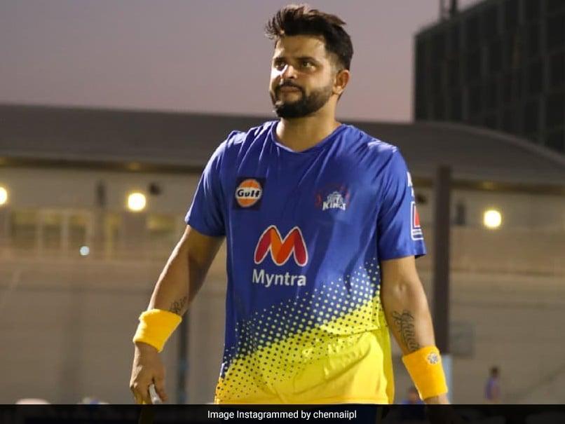 """Watch: Suresh Rainas """"Dhueindar"""" Six During CSK Practice Ahead Of IPL 2021 In UAE"""