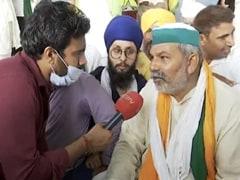 "Will ""Campaign In The Name Of PM"": Farmer Leader Rakesh Tikait Mocks BJP"