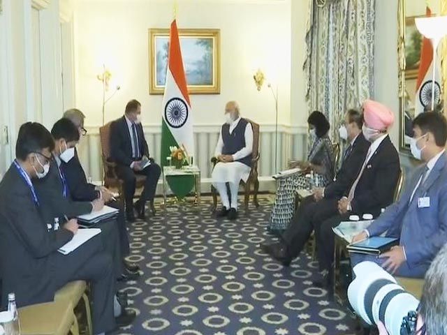 Video : Top News Of The Day: PM Meets Global CEOs On Day 1 Of US Visit