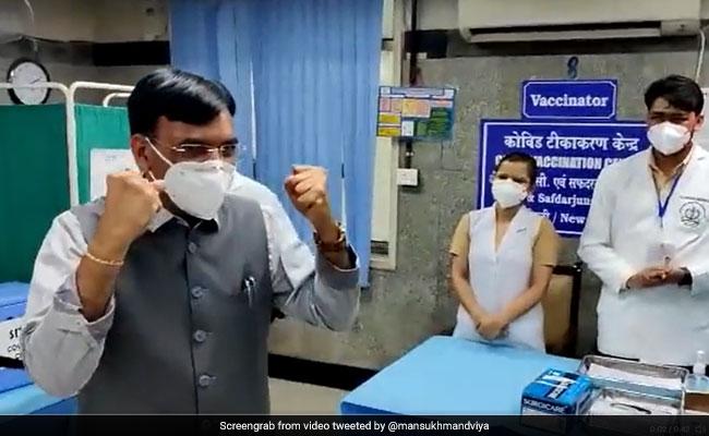 """Thank You, Mansukh Mandaviya"": WHO Chief On India Vaccine Export Move"