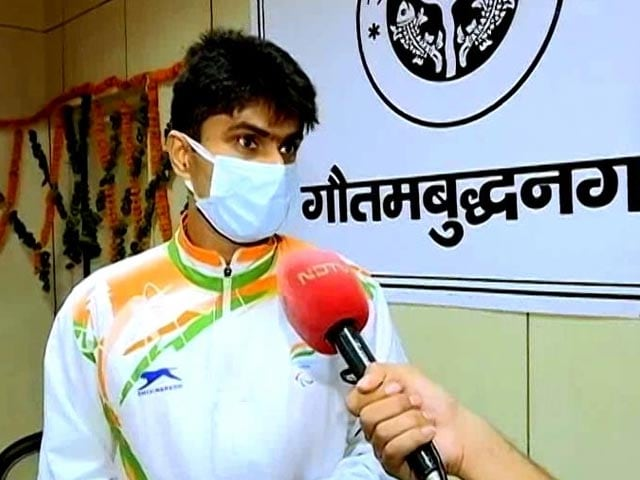 Video : Noida DM Back to Work After Paralympic Win