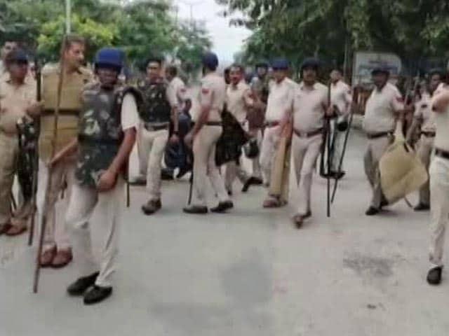 Video : Ahead Of Farmers' Meet, Heavy Security In Haryana's Karnal