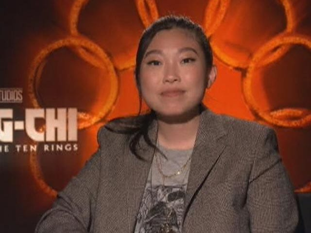 """Video : """"My Character Is Shang Chi's Best Friend"""": Awkwafina"""