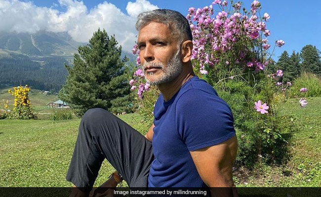 Milind Soman Is Busy 'Showing Off' In Gulmarg. (His Words)