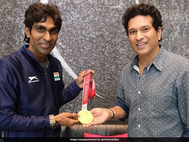 Paralympics Gold medalist Pramod Bhagat says he learns this too important thing from Sachin Tendulkar