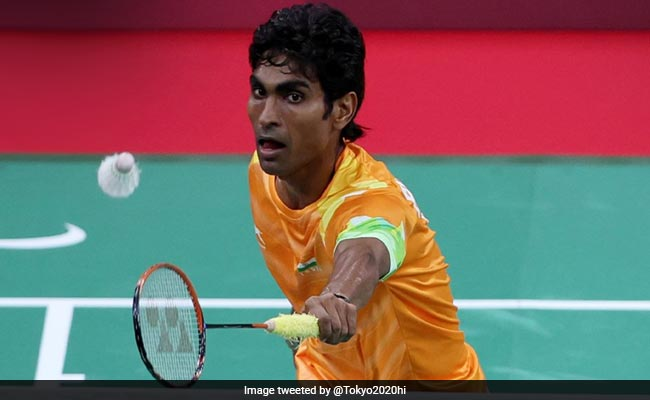 Pramod Bhagat Wins Gold In Badminton Mens Singles SL3 in Tokyo Paralympics