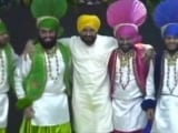 Video : Watch: Punjab Chief Minister's Impromptu Bhangra At College Event
