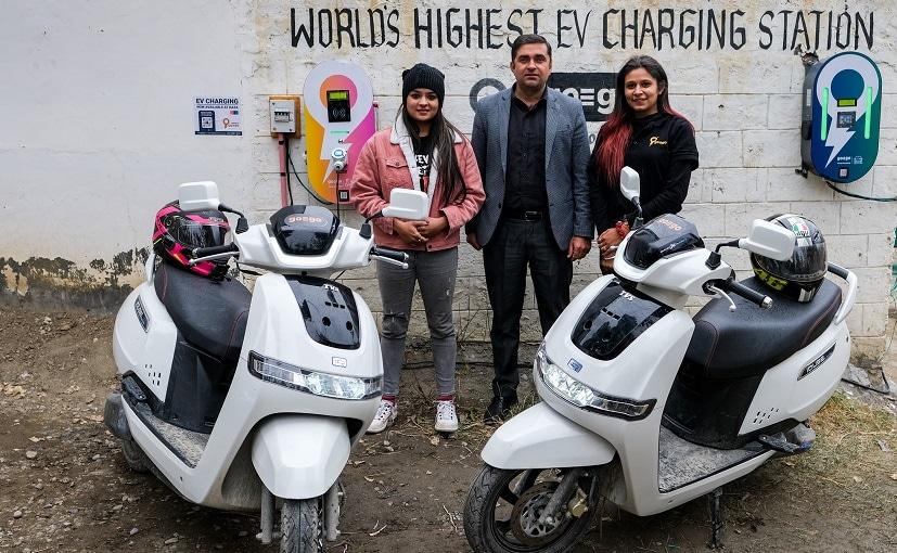 World's Highest EV Charging Station Installed By goEgoNetwork At Kaza, Spiti Valley