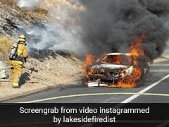 Watch: Good Samaritans Rescue Elderly Couple From Burning Vehicle