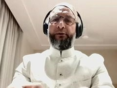 """""""Emboldened By Government"""": Asaduddin Owaisi On Vandalism At Home"""