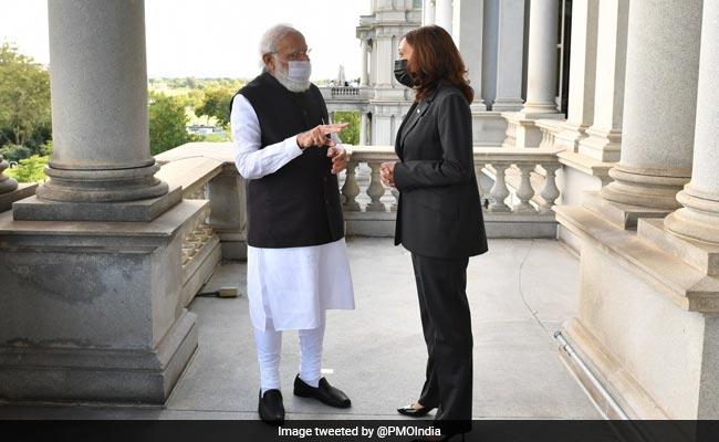 Kamala Harris 'Source Of Inspiration For Many Around The World': PM Modi
