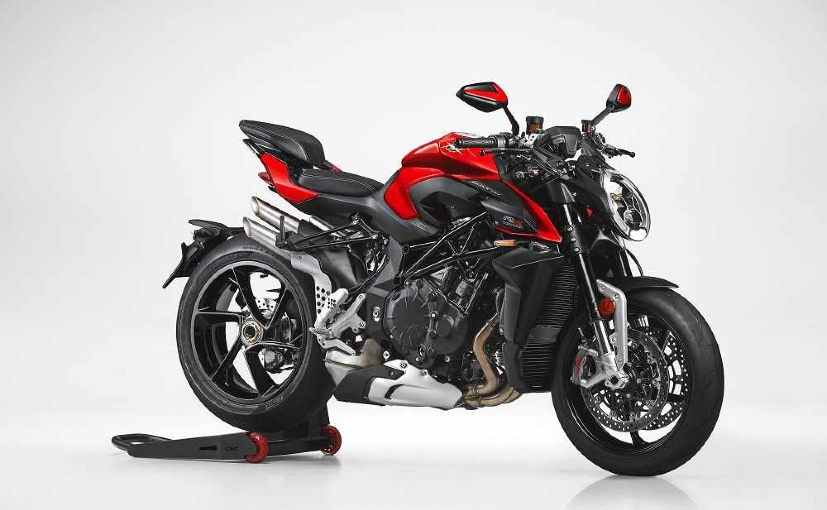 MV Agusta Brutale 1000RS with low spec components