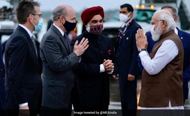 PM Modi US Visit Highlights: PM On High-Level Visit To US Arrives In Washington
