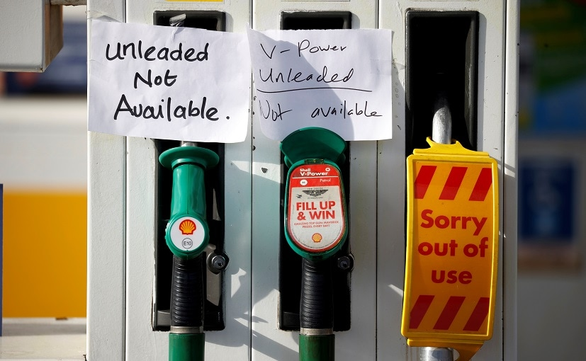UK Puts Army On Standby As Fuel Pumps Run Dry: Ministry