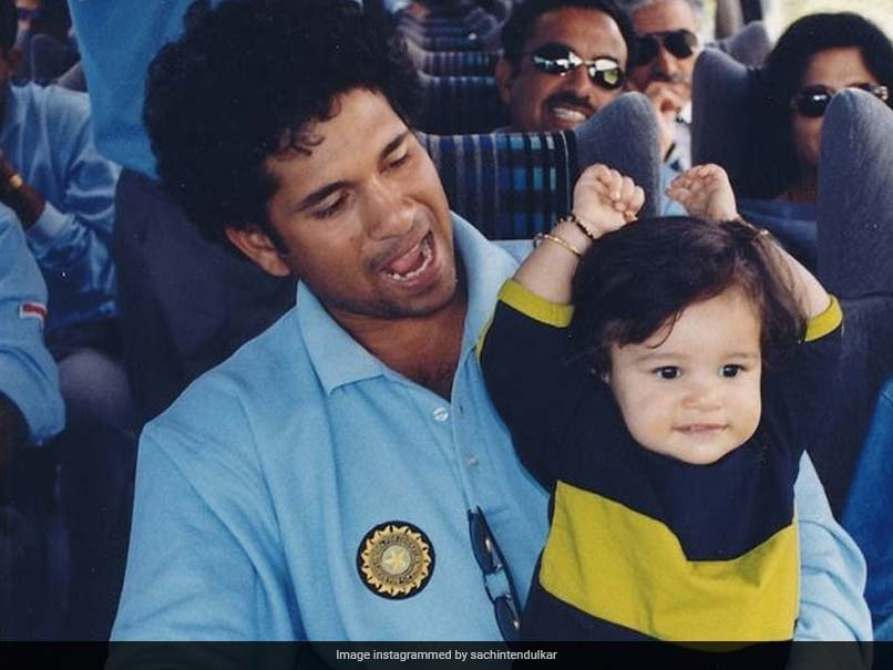 """""""I Am So Proud Of You..."""": Sachin Tendulkar Posts Throwback Photo With Sara On Daughters Day 2021"""