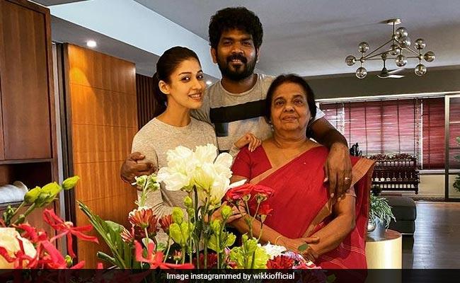Nayanthara Celebrates Mom's Birthday With Vignesh Shivan. See Pics