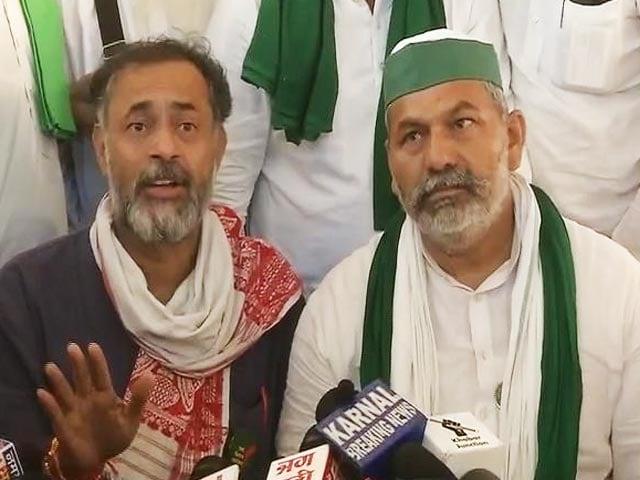 Video : Talks Fail, Farmers Threaten Long Haul Protest At Haryana Government Office