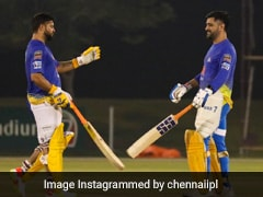 """""""Nets Off, Game On"""": Watch Glimpses Of CSK's Simulation Match In UAE"""