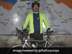 Army Officer Cycling From Leh To Manali To Set Guinness Record