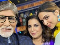 <i>Kaun Banega Crorepati 13</i>: Deepika Padukone Picks A Favourite Film. Farah Khan Is Not Impressed