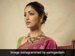 Yami Gautam Spells Elegance In Every Language In A Beautiful Bright Pink <i>Benarasi Saree</i>